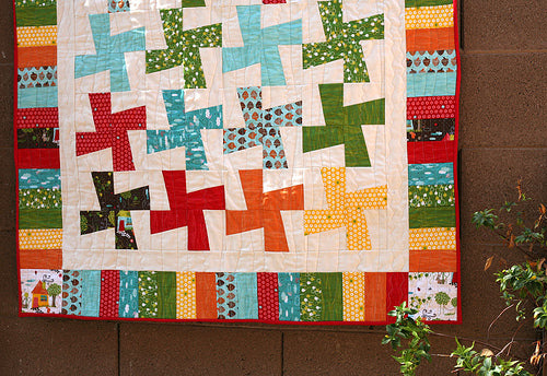 Color in Motion Baby Quilt