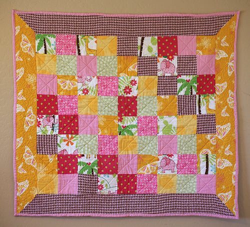 Summer Sunrise Baby Quilt
