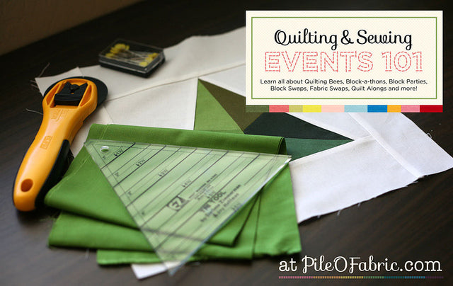 Quilting & Sewing Events 101