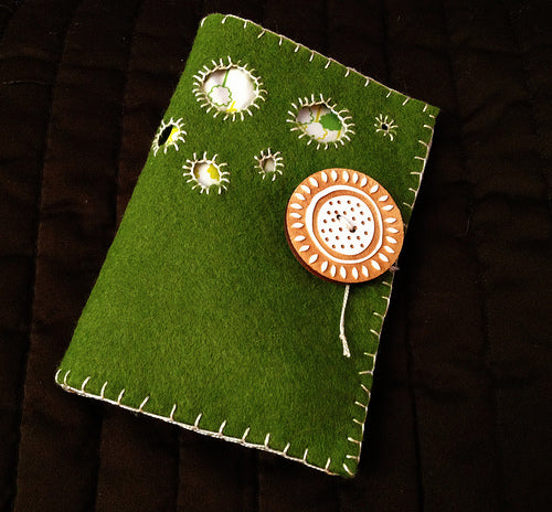 Needlebook -  Project for week 1 in Handstitched Camp