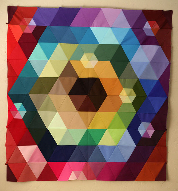 Patchwork Prism Quilt Top