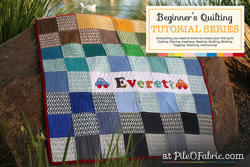 Coming Soon - Beginners Quilting Tutorial Series