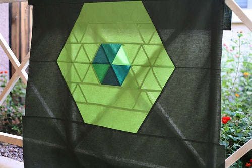 Patchwork Prism Backing