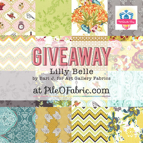 Lilly Belle Giveaway at Pile O' Fabric