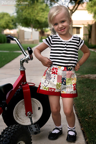 Gwenyth and her new shorts!