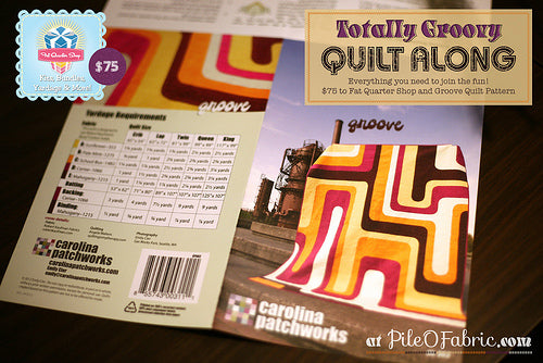 Totally Groovy Quilt Along Giveaway!