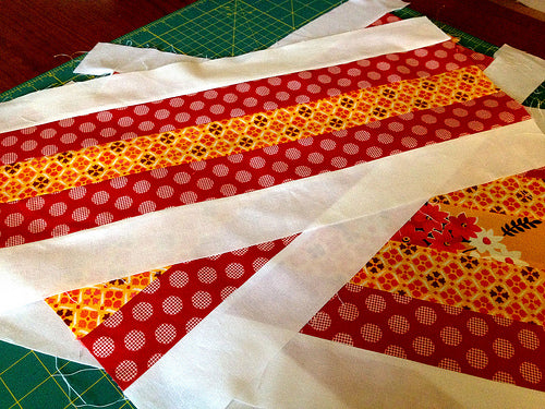 Working on some granny blocks. Gots lots of sewing planned this labor day weekend!