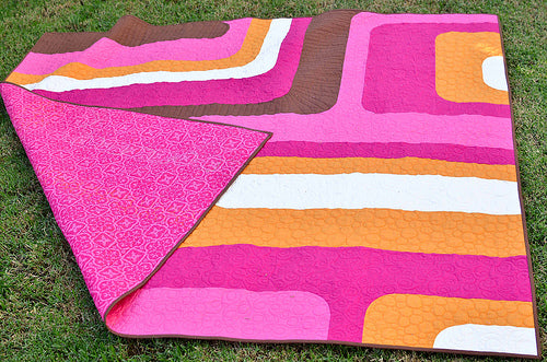 Groove Quilt back