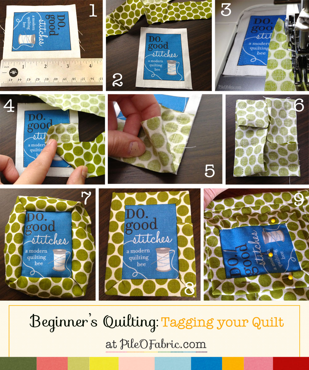 Tutorial: How to Tag a Quilt