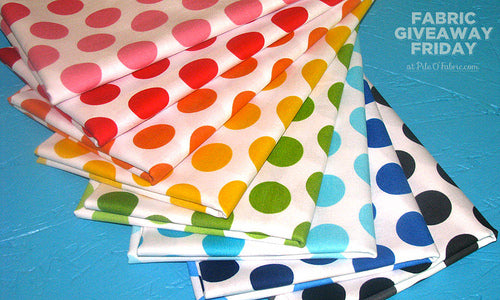 Fabric Giveaway Friday Prize