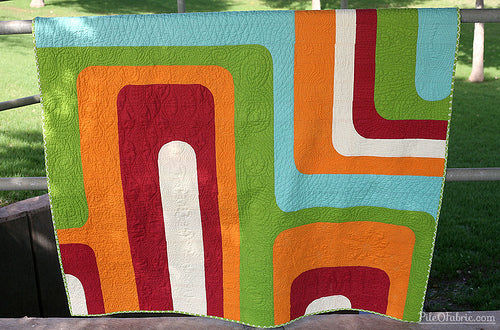 A Totally Groovy Quilt