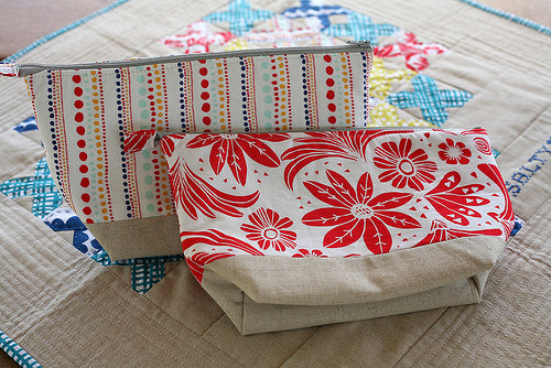 Matching Zipper Bags