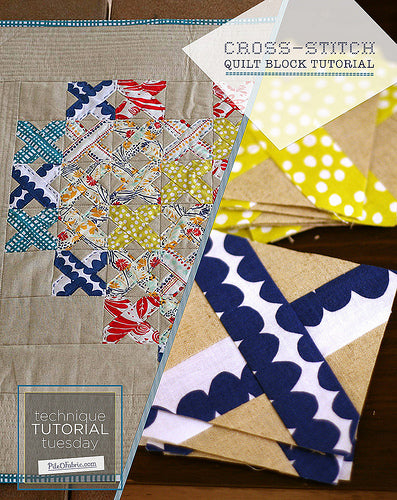 Cross-Stitch Block Tutorial