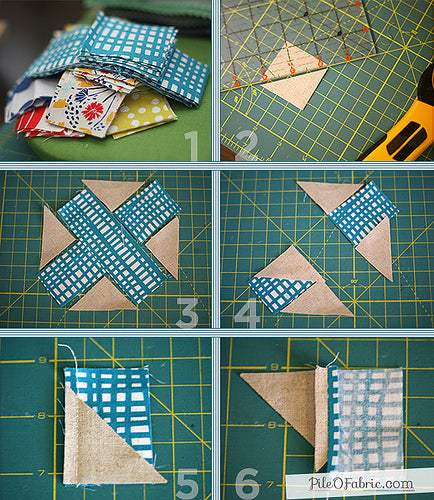 Cross-Stitch Quilt Block Tutorial