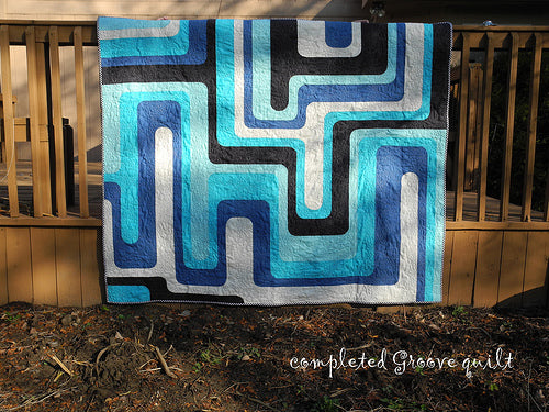 Completed Groove Quilt