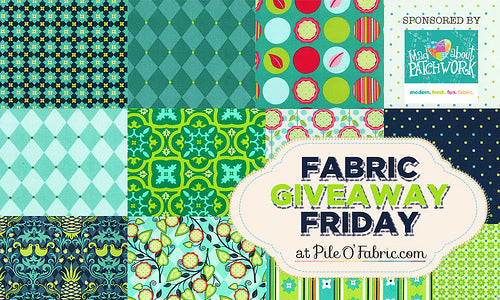 Fabric Giveaway Friday