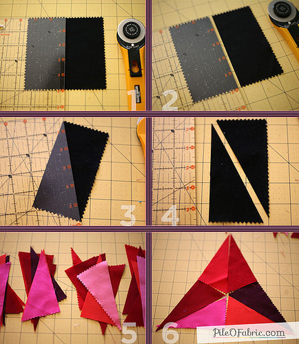 Triangle Wheel Block Tutorial