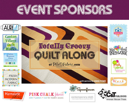 Thank You, Totally Groovy Sponsors!