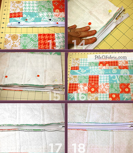 Zippered Pillow Tutorial