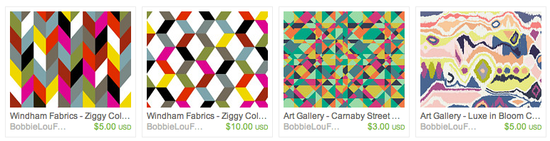 Great selection of over 100 Geometric prints.