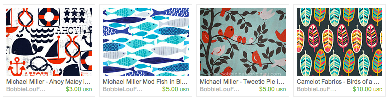 Fun prints for boys and girls.