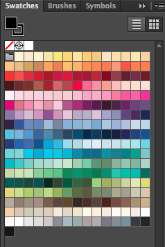 Adobe Illustrator Swatches Panel