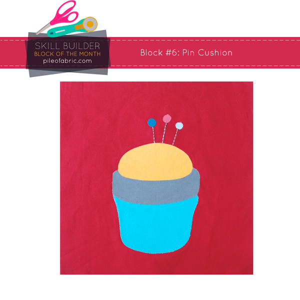 Pin Cushion Block for Skill Builder BOM 2014