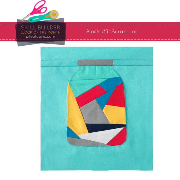Scrap Jar Block for the Skill Builder BOM 2014