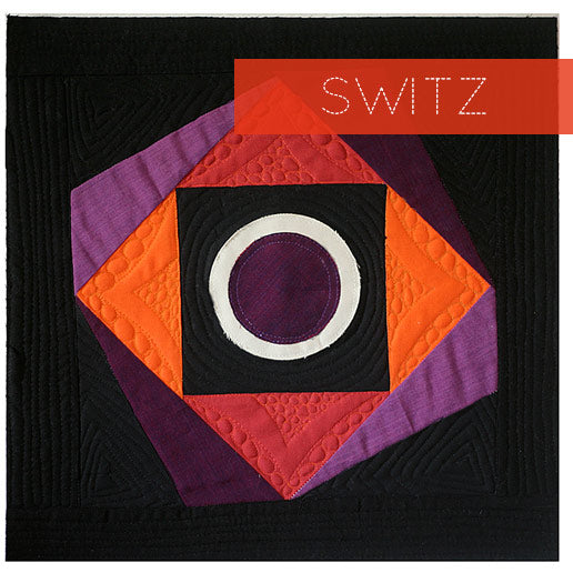 Switz Quilt Block by Alyssa Lichner // Skill Builder BOM | PileOFabric.com