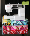 Sewing machine cover pattern.