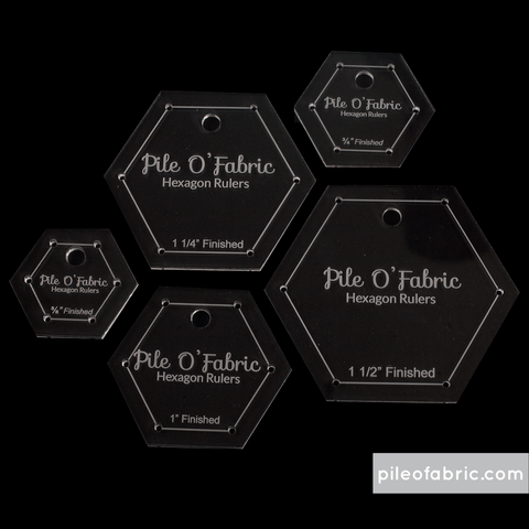 Hexagons Rulers