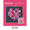 Cross Stitch Heart Quilt (PDF Pattern)