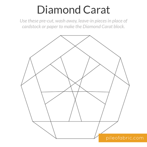 Pre-cut Diamond Carat Stabilizer