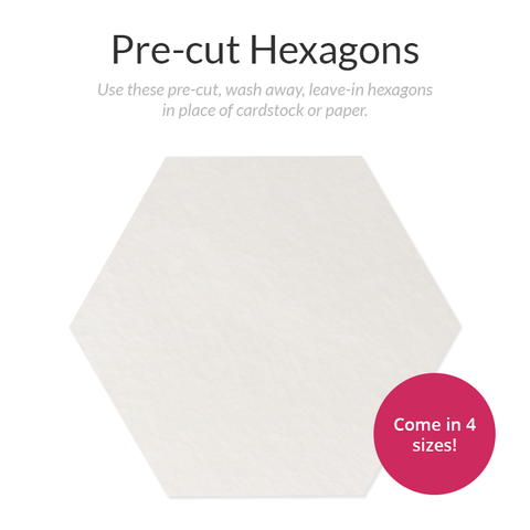 Pre-cut Hexagon Stabilizer