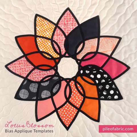 Lotus Blossom Block Templates