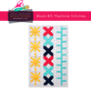 Cross Stitch Quilt Block