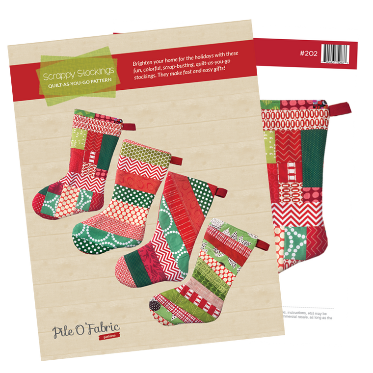 Scrappy Stockings (PDF Pattern)