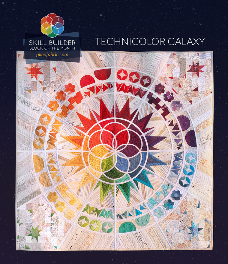 Technicolor Galaxy (PDF Pattern)