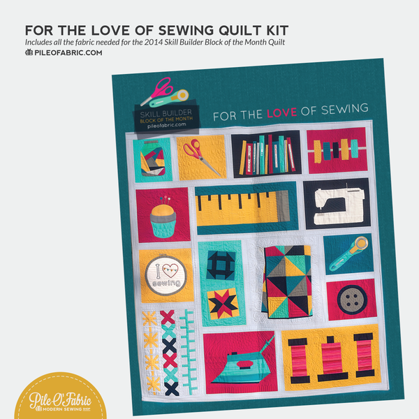 Fabric Kit for Skill Builder BOM 2014