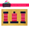 Thread Spool Quilt Block
