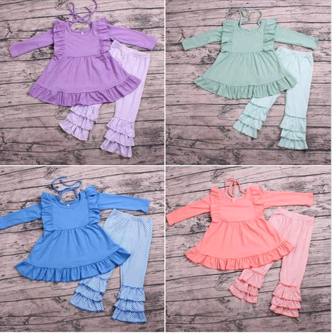 Girls Colorful Long Sleeve Knits