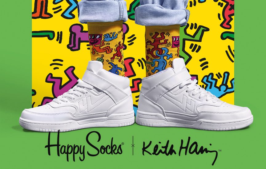 keith haring x happy socks