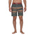 boardshorts e costumi hurley PENDLETON BADLANDS 18 OUTDOOR GREEN