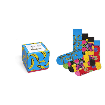 calze happy socks ANDY WARHOL SOCK BOX SET