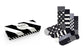 calze happy socks CLASSIC BLACK & WHITE SOCKS GIFT SET 9100