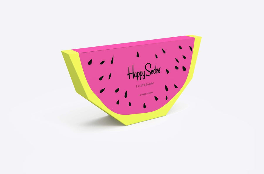 happy socks calze,Kids Fruits Gift Box, image 1