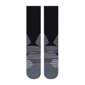 stance Icon Hoops Crew Black foto 3