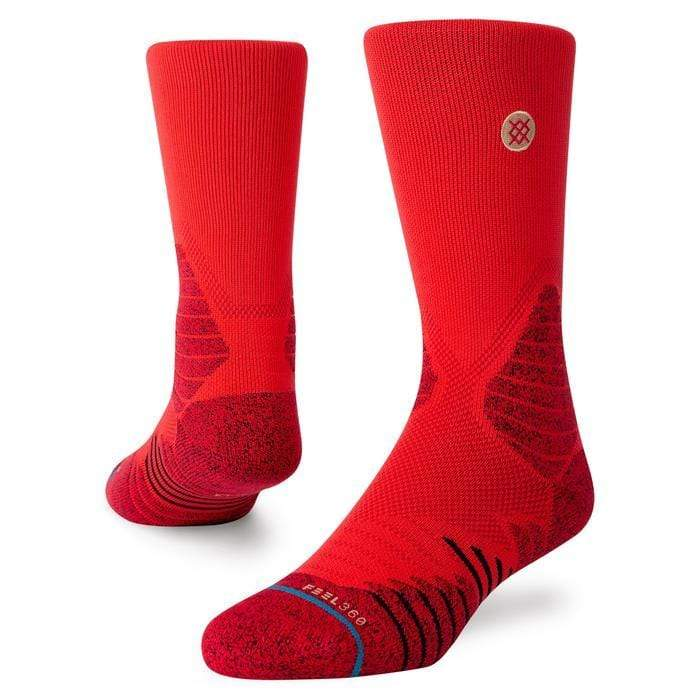 stance calze,Icon Hoops Crew Red, image 1