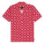 camicie huf ATELIER RESORT WOVEN S/S SHIRT RED