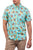 camicie hurley HARVEST STRETCH SS LIGHT AQUA